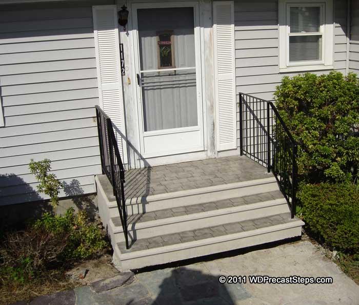 W&D Precast Concrete Steps & Bulkheads Serving