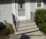Pre cast concrete stairs in Massachusetts