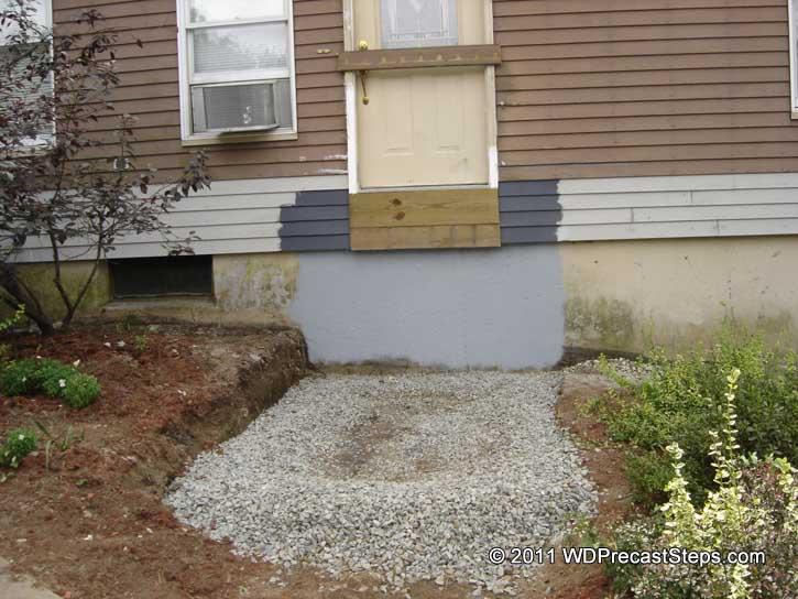 W amp d precast concrete steps amp bulkheads serving massachusetts and rhode island