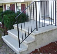 precast concrete steps massachusetts and RI